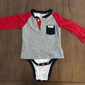 Baby GAP long sleeved bodysuit